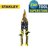 Stanley STA014206 FatMax Aviation Snips Straight Cut 250mm Metal Cutting 0-14-20