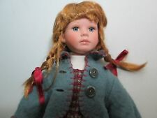 """Julie Good Kruger 12"""" Doll CARRIE Limited Number 5826 Dated 2001 Braided Hair"""