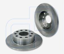 2 Brake Discs VW Caddy III Rear Axle 10 1/32in 1ZF 2E2