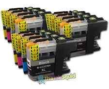 12 LC225XL + LC227XL Cartuchos de tinta para la impresora Brother MFCJ 4620DW MFCJ 4625DW