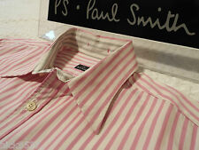 """PAUL SMITH Mens Shirt 🌍 Size M (CHEST 38"""") 🌎 RRP £95+ 🌏 SUPERBLY STRIPED"""