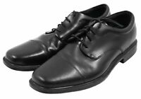 Rockport Mens Black Waterproof Leather Lace Up Oxfords Dress Shoes Size 13M