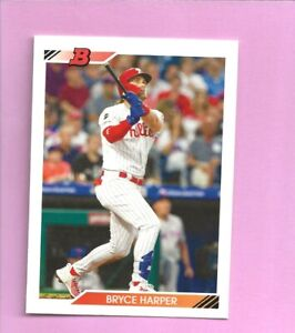 2020 Bowman Heritage Bryce Harper #54 Philadelphia Phillies