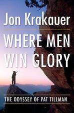 Where Men Win Glory by Jon Krakauer...NEW Hardcover