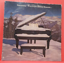 SUPERTRAMP EVEN IN THE QUIETEST MOMENTS LP '77 ORIGINAL NICE CONDITION! VG/VG!!B