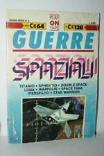 RIVISTA GUERRE SPAZIALI SUPPLENENTO A PLAY ON TAPE LOGICA 2000 USATA FR1 56000