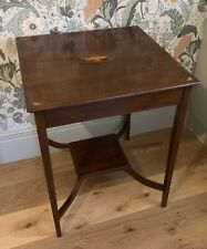 Edwardian Mahogany Table NO RESERVE Antique Vintage, Console Table, Side Table