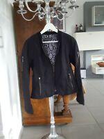 Damen Jacke, Blazer schwarz ,Gr. 38, 40, 42 , M/ L, Reißverschluss, Luisa Cerano