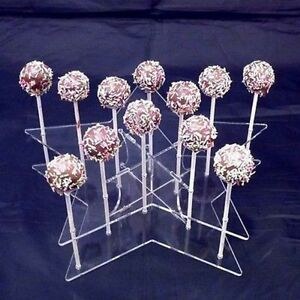 Star Cake Pop Stand - Available in a Range of Colours