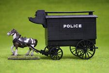 Lámpara de Gas callejón Victoriano policía carro y caballo 28 mm G069