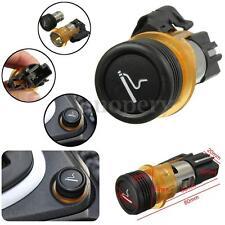 Car Cigarette Lighter & Housing Cig Socket For PEUGEOT 206 308 406 607 1007