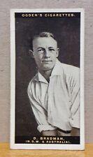 More details for superb ogdens cigarette card australian test cricketers 1928 - 1929 don bradman