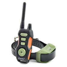880 Yards Rechargeable Waterproof Remote Training Collar for Medium Large Dogs
