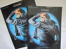 GREASE Vocal AND Easy Piano Selections 1982 Music Hal Leonard PB Song Book Lot