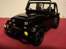 Jada 1992 jeep Wrangler new no box 2016 release 1/24 scale black exterior