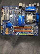 Gigabyte GA-EP45-UD3R Motherboard + Intel Core2 Quad Q9400 CPU + Zalman Cooler