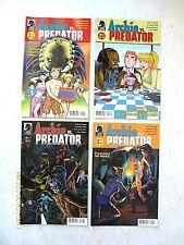 ARCHIE COMICS ARCHIE VS PREDATOR #1, 3-4 COMIC BOOK SET! NEW!
