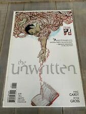 The Unwritten #1 Comic Book Vertigo Comics NM Near Mint Bagged & Boarded