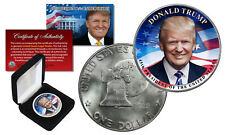 DONALD TRUMP 45th President 1976 Bicentennial Eisenhower $1 Dollar Coin w/ Box