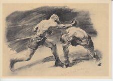 Olympia 1936  - Hilfsfond für den dt. Sport  Werbepostkarte 18 - Boxen