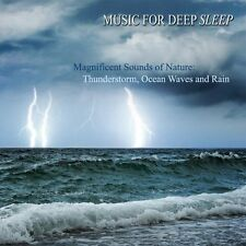 NEW Magnificent Sounds of Nature: Thunderstorm, Ocean Waves, Rain (Audio CD)