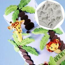 Animal Silicone Fondant Cake Decorating Sugarcraft Chocolate Icing Mold T