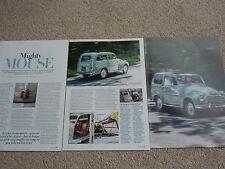 Fiat 500C Giardiniera (1953) - Classic Test Article