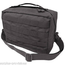 Condor - Tactical Utility Shoulder Bag - Black - Molle Hunting Pack pouch - #137