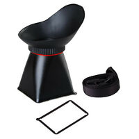 "3.2"" LCD Viewfinder 3:2 2.8x Magnifier Extender for Canon 5D Mark III 1DX Hot"