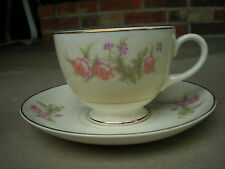 Vintage Homer Laughlin Egg Shell Nautilus Cup and Saucer