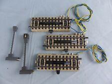 MÄRKLIN Ho Lot de 3 rails dételeurs électriques ref 5112  voie M + testés OK