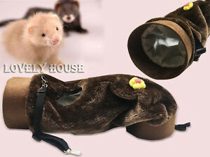 Ferret / Guinea pig / Young Rabbits Hanging Bed Fun Tunnel Toy House Hammock