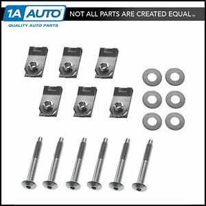 Dorman Bed Mounting Hardware 6 Bolt Set Kit for 05-13 ford F150 6 7 Foot Bed