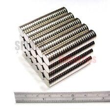 500 Imanes 10x2 mm Imán de Neodimio Fuerte Redondo Neo Craft 10 mm diámetro x 2 mm