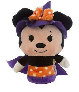 Hallmark Itty Bittys Disney Halloween Minnie Mouse Witch