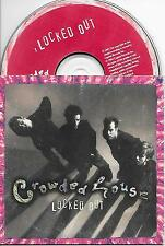 CROWDED HOUSE - Locked out CD SINGLE 2TR Dutch CARSLEEVE 1994 (Capitol) Rare