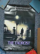 """"""" The Exorcist """" Original 2-Sided 27"""" x 40"""" Movie Poster - Very Good Condition"""