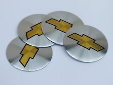 "Chevy Bowtie 55mm or 2.2"" WHEEL CENTER CAP EMBLEMS STICKERS DECALS Replacement"
