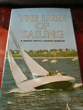 The Lure of Sailing by Everett A. Person HCDJ Hard Cover Book 1ST EDITION