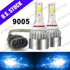 2 Bulbs Cree Led Headlight 9005 Hb3 8000K High Beam or Fog Drl Bulb Blue Pair