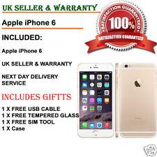 Apple iPhone 6 - 16gb-Oro (Sbloccato) Smartphone buone condizioni UK grado B + +