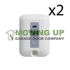Stanley 1082 Garage Door Opener Key-chain Remote 1050 QTY 2