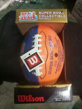 Wilson Super Bowl Xli Collectible Mini Football, New In Box, Colts Vs Bears