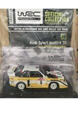 Modellino Wrc Rally Audi Sport Quattro S1