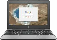 "REFURBISHED 11.6"" HP CHROMEBOOK G5 WITH CHROME OS PLAYSTORE WEBCAM HDMI NOTEBOOK"