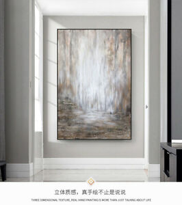 LL877 Pure hand-painted abstract oil painting modern simple decor art Unframed