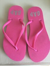 New Gap Pink Flip Flops Size 6