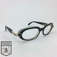 DANIEL SWAROVSKI eyeglassses BLACK OVAL frame MOD: S523