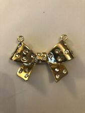 SPARKLING BOW Pendant Charm Necklace Craft