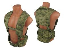 Modular Vest military army paintball atacs fg airsoft chest rig molle pals